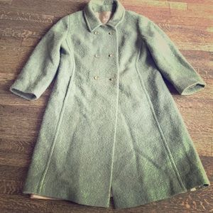 Vintage wool coat by Bromleigh of New York